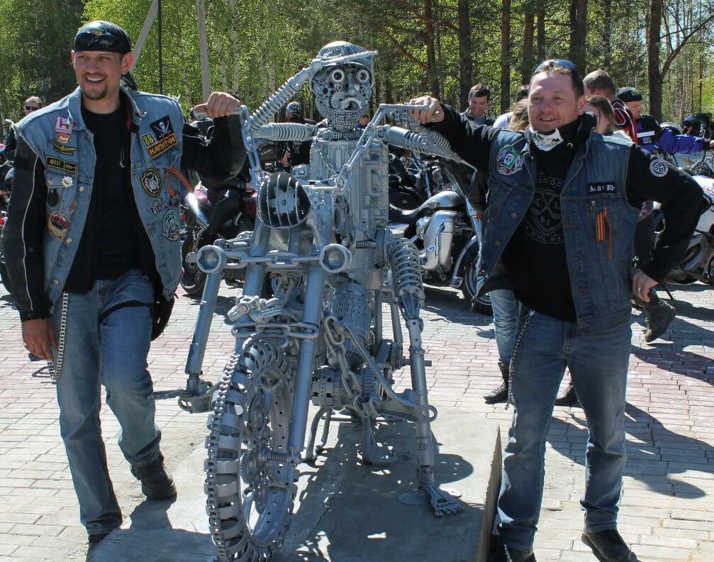 Всемирный день мотоциклиста.