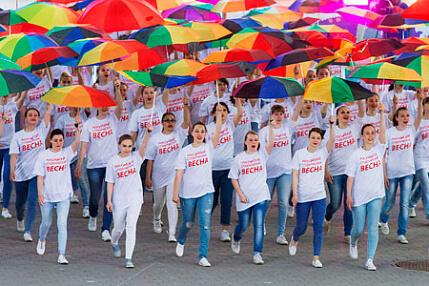 XVI окружной фестиваль «Студенческая весна».