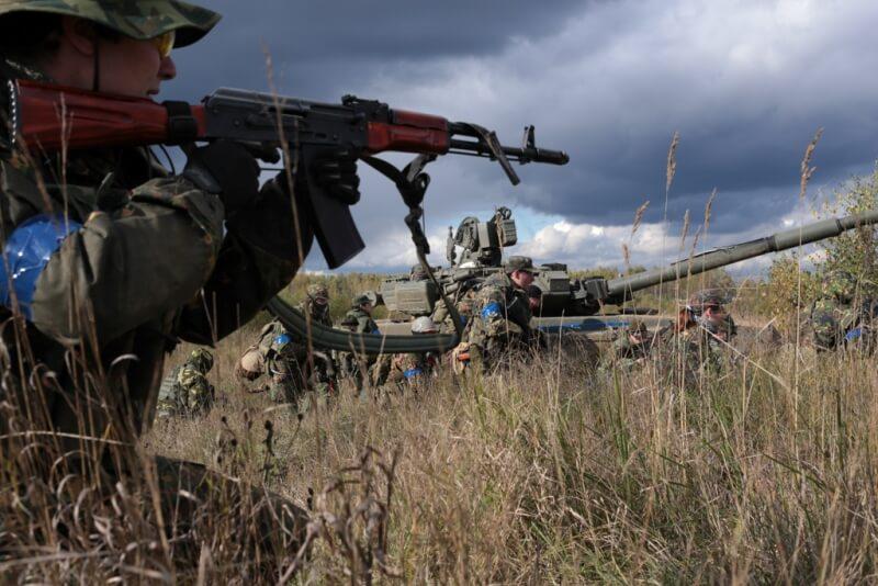 Военно-тактические игры «ЗАРЯ: Сутки на броне»