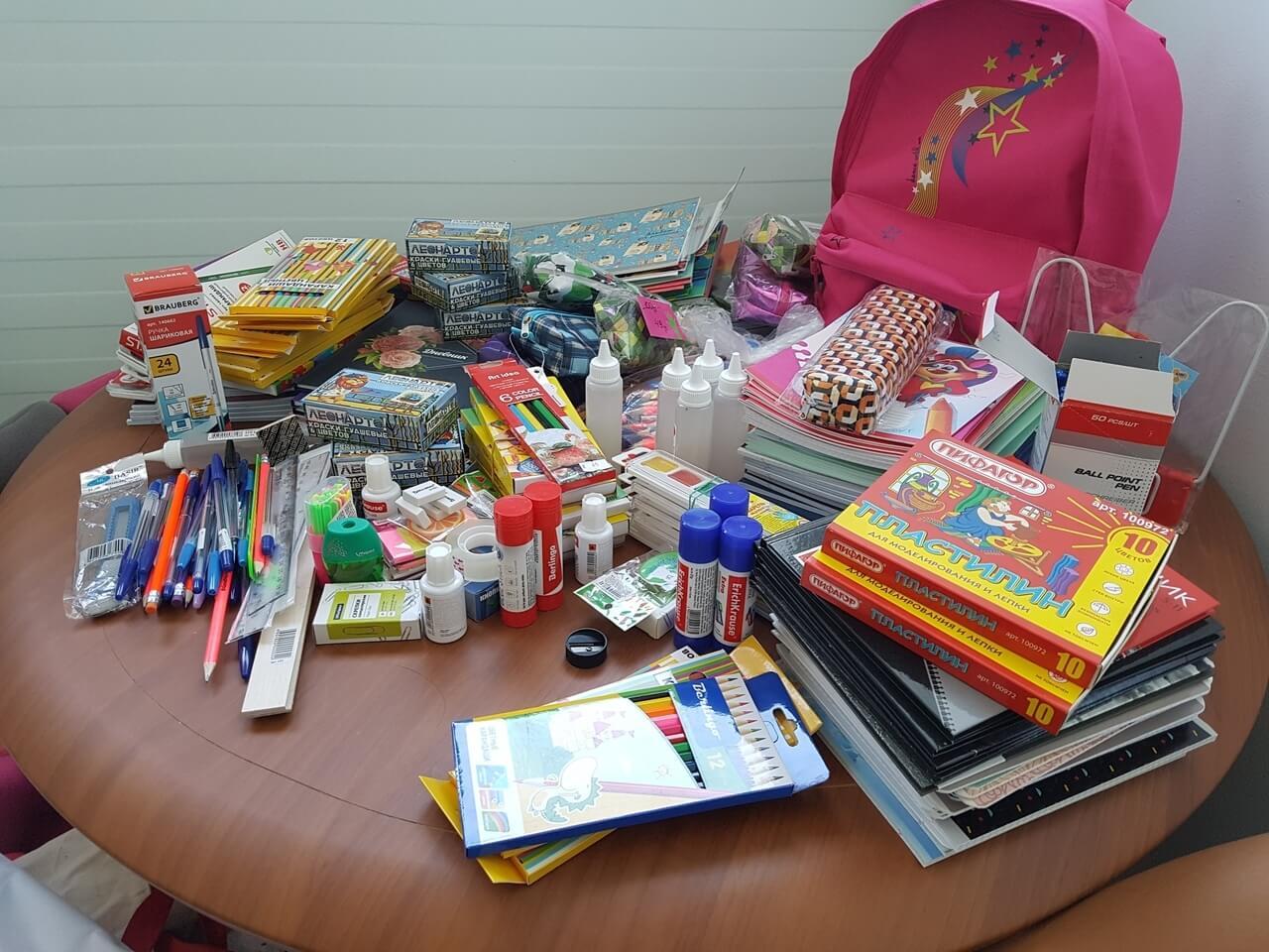 Акция «Собери ребенка в школу»! 25 и 26 августа