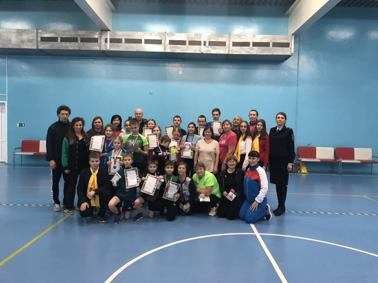 «Веселые старты» в спорткомплексе Центра адаптивного спорта в Югорске