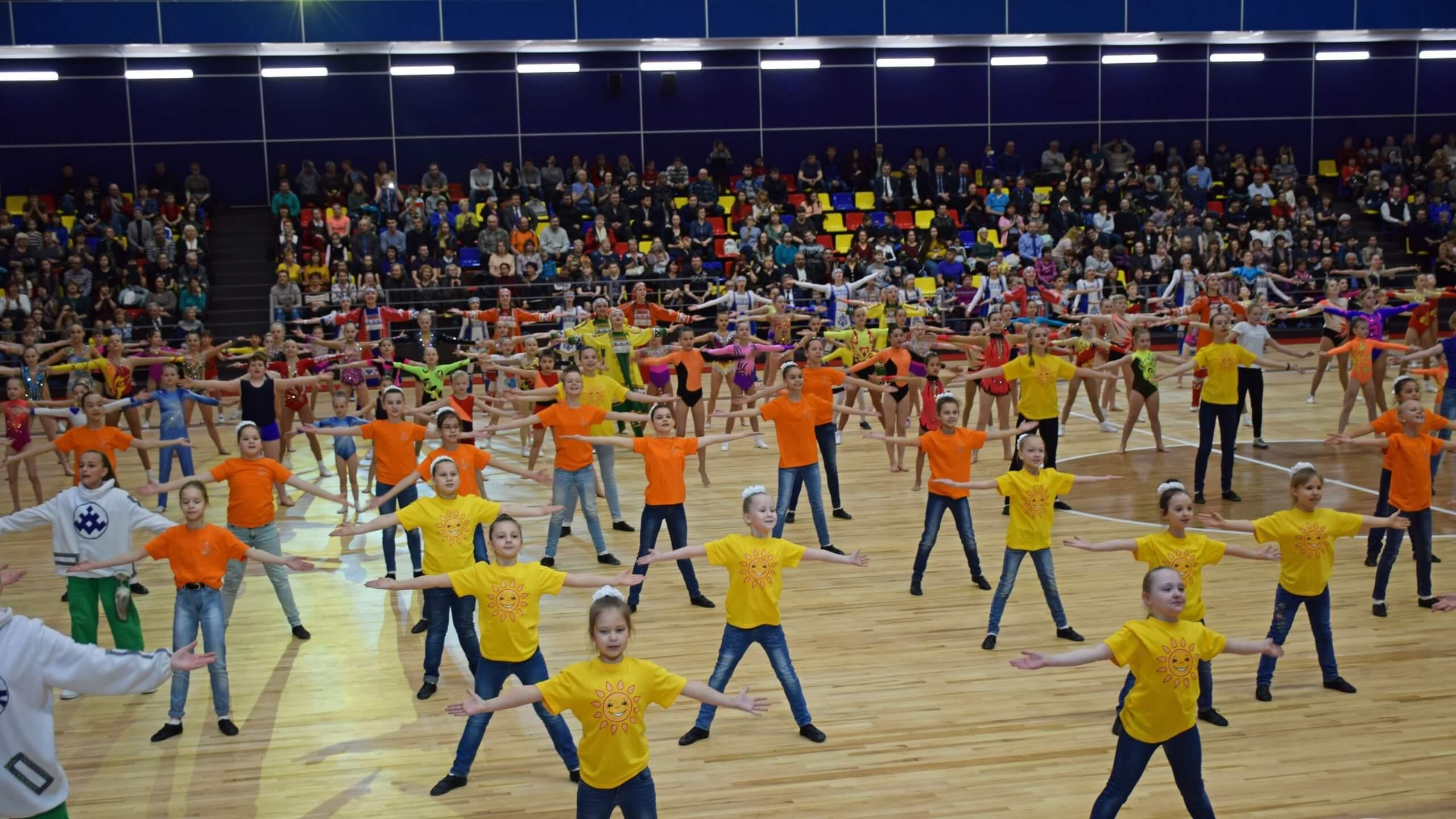 Открытие физкультурно-спортивного комплекса в Югорске