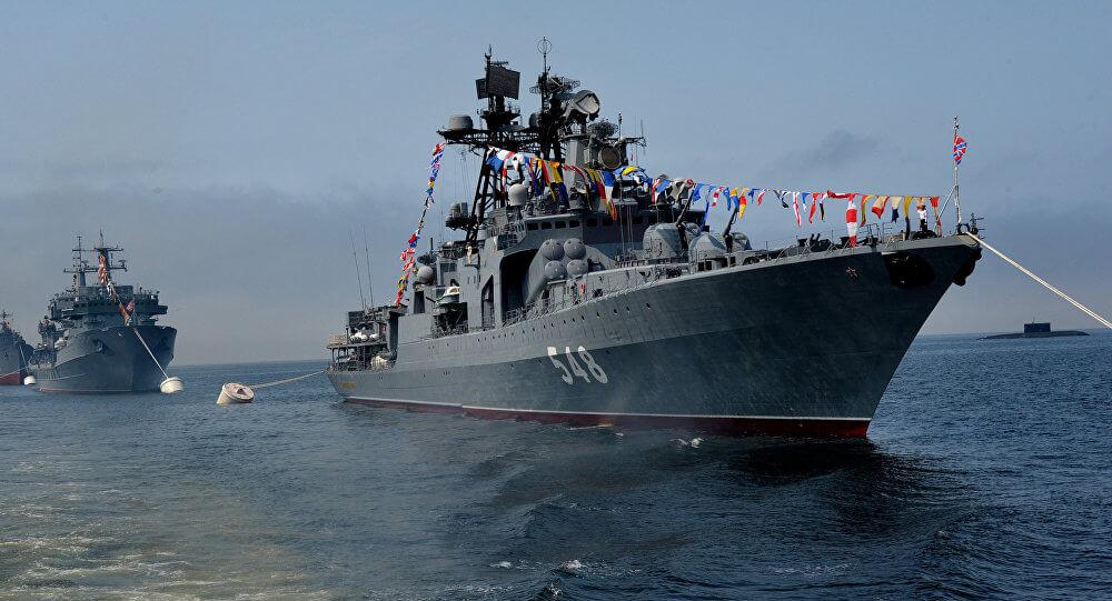 День Черноморского флота ВМФ России.