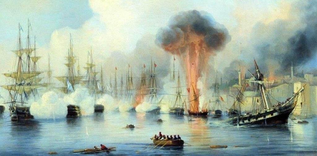 9 августа 1714 года — Гангутское сражение
