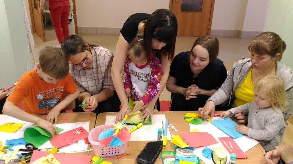 Мастер-класс по изготовлению новогодних игрушек в «Неделю добрых дел»
