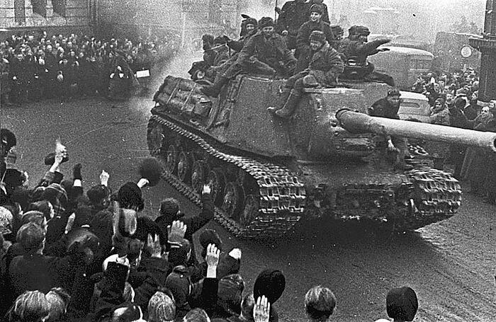 13 февраля – Освобождение Будапешта