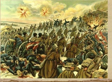 22 марта 1915 года Русские войска занимают Перемышль