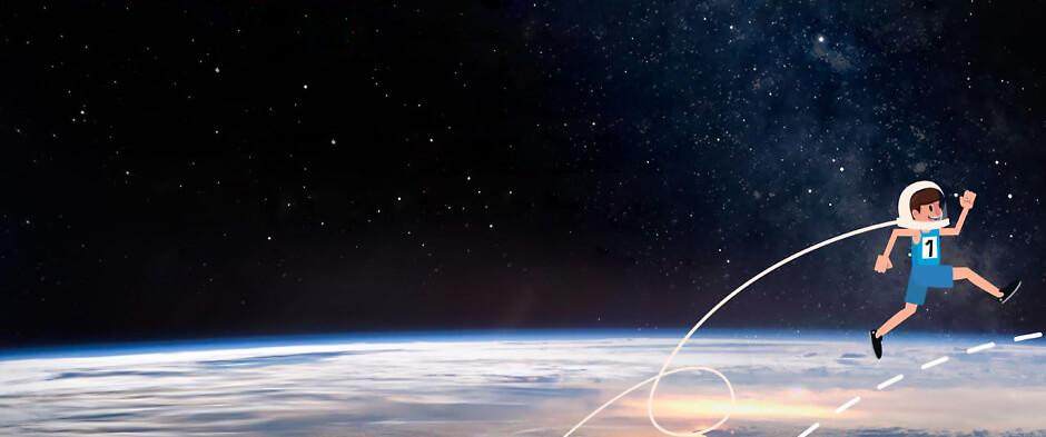 Космический забег
