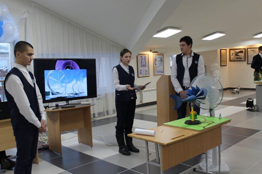 Юные изобретатели Югорска