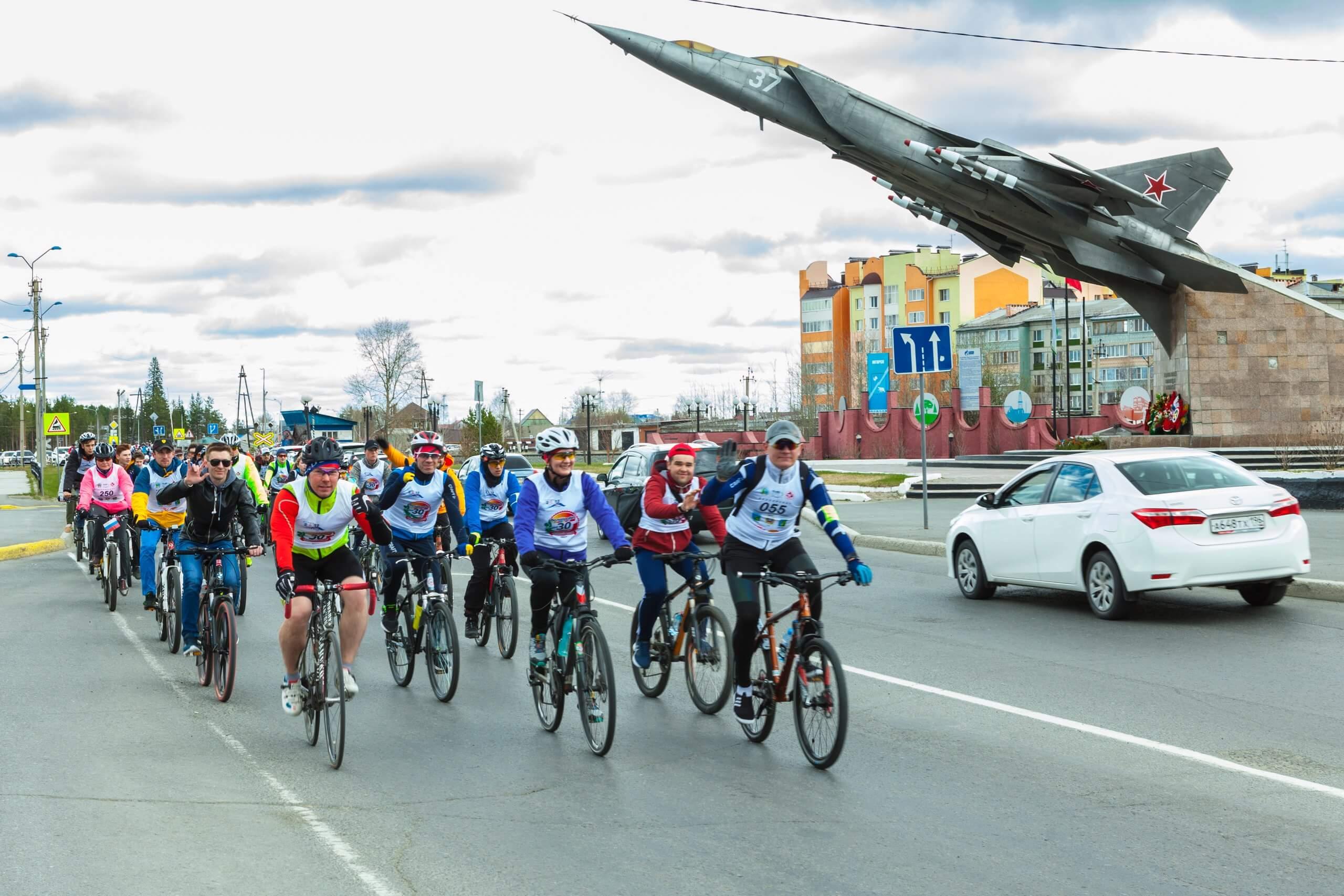 Велопробег Югорск-Советский 2018