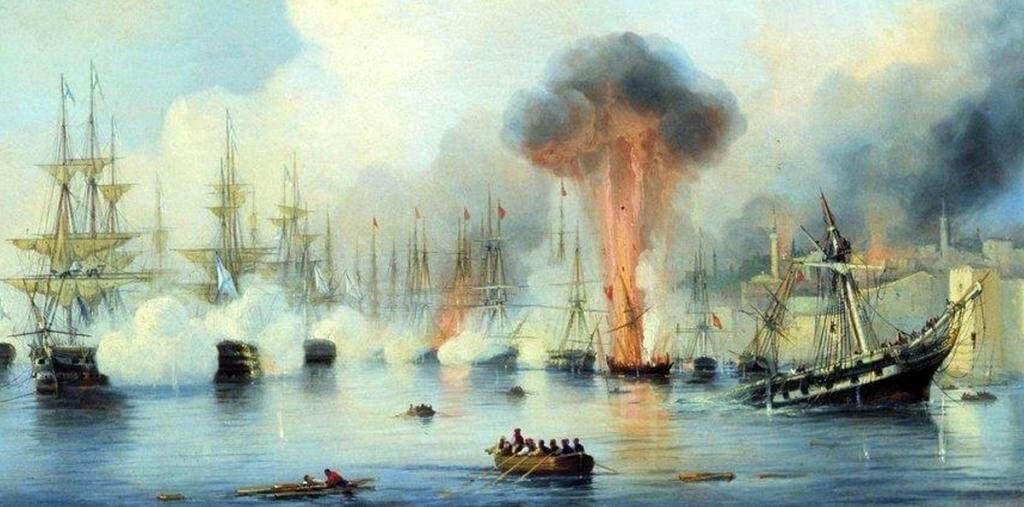9 августа 1714 года – Гангутское сражение