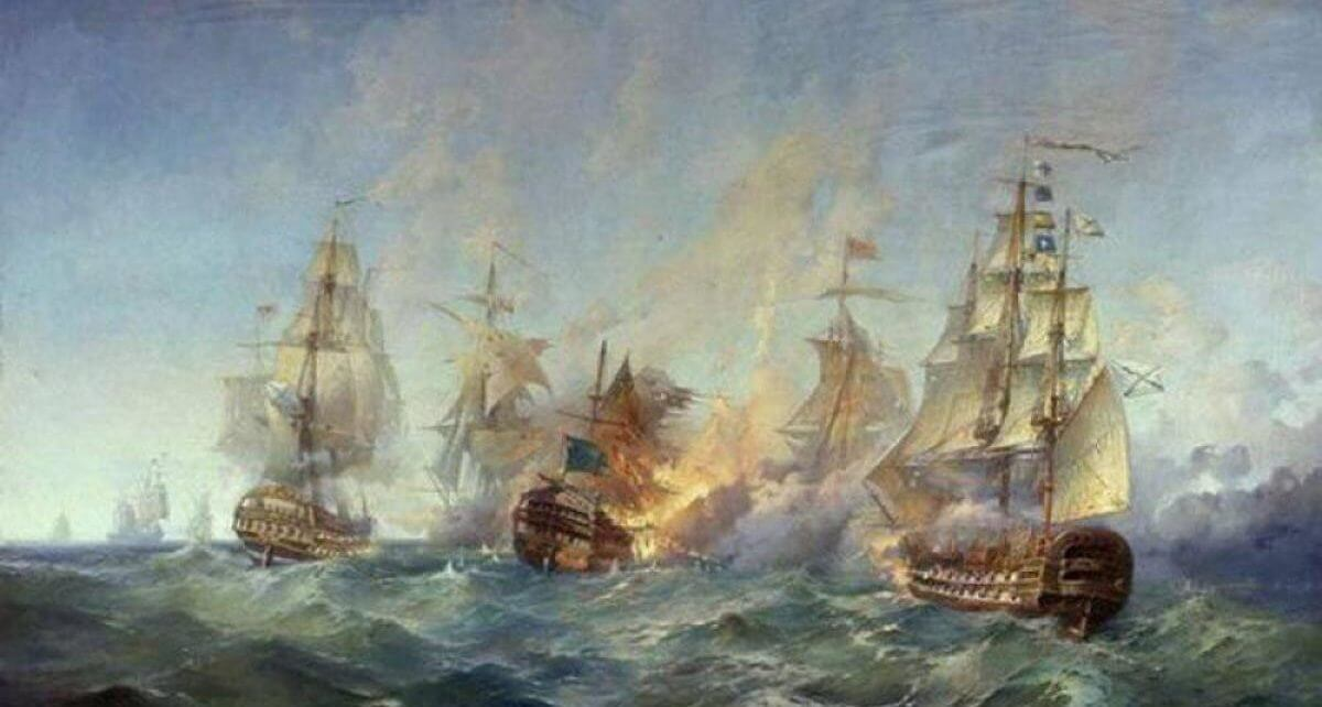 11 сентября 1790 года Победа над турецкой эскадрой у мыса Тендра