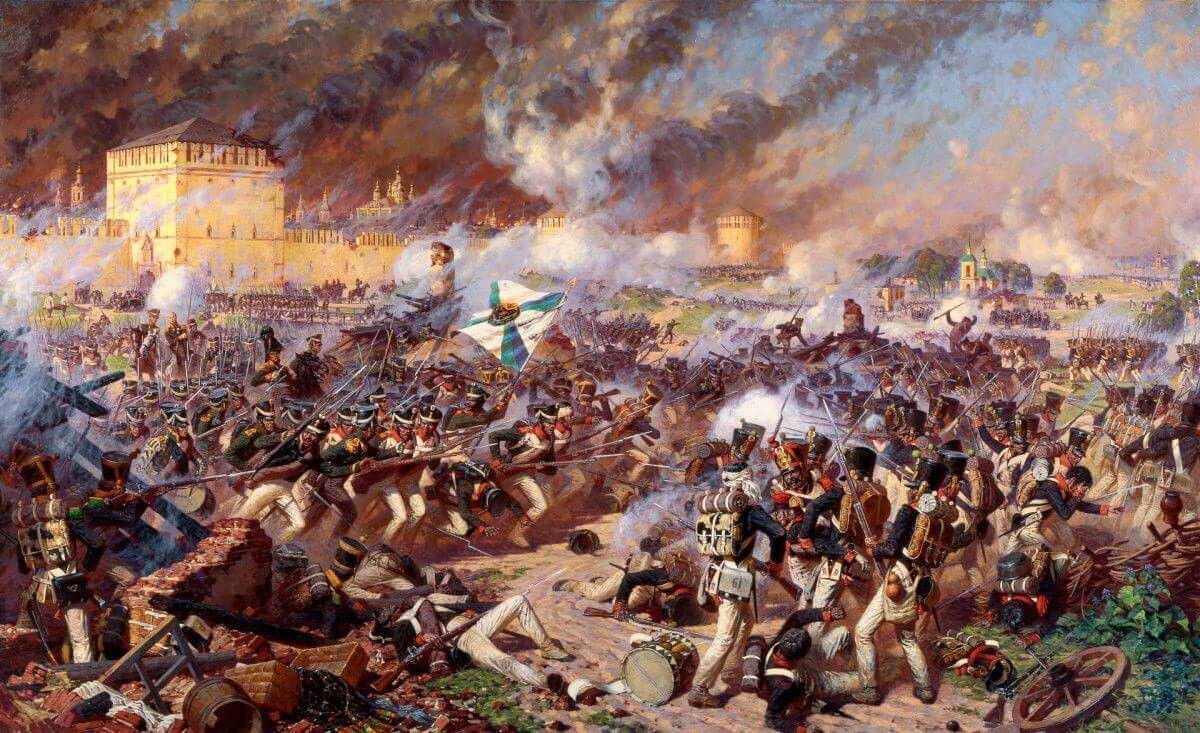 Оборона Смоленска от польско-литовских войск 1609 год