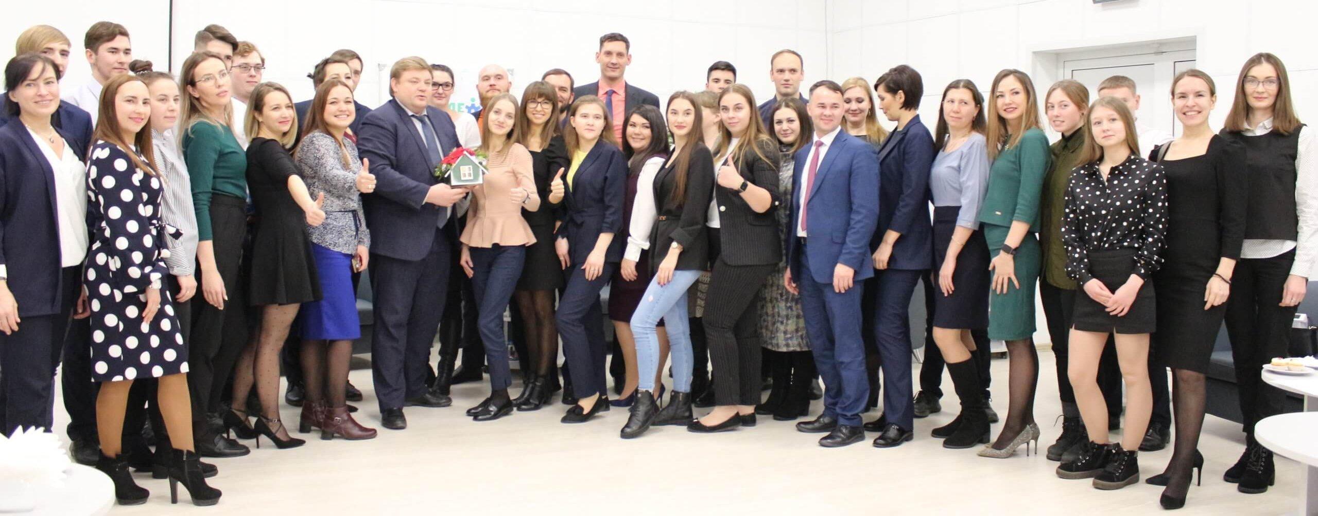 Предновогодняя встреча главы города Югорска с молодыми активистами