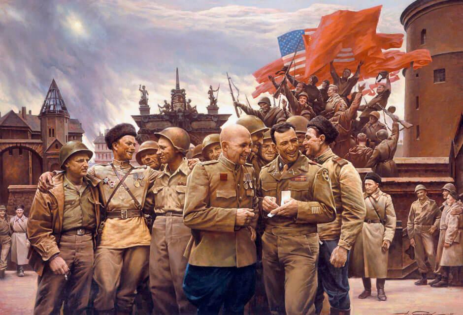 25 апреля 1945 года – встреча на Эльбе