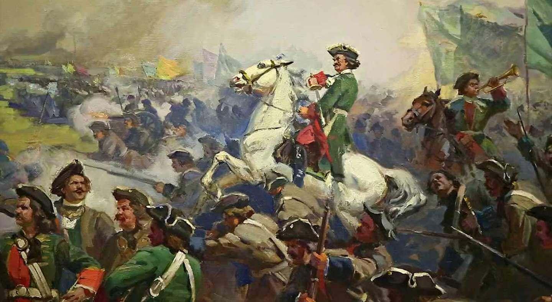 10 июля 1709 года — Русская армия одержала победу над шведскими войсками в Полтавской битве