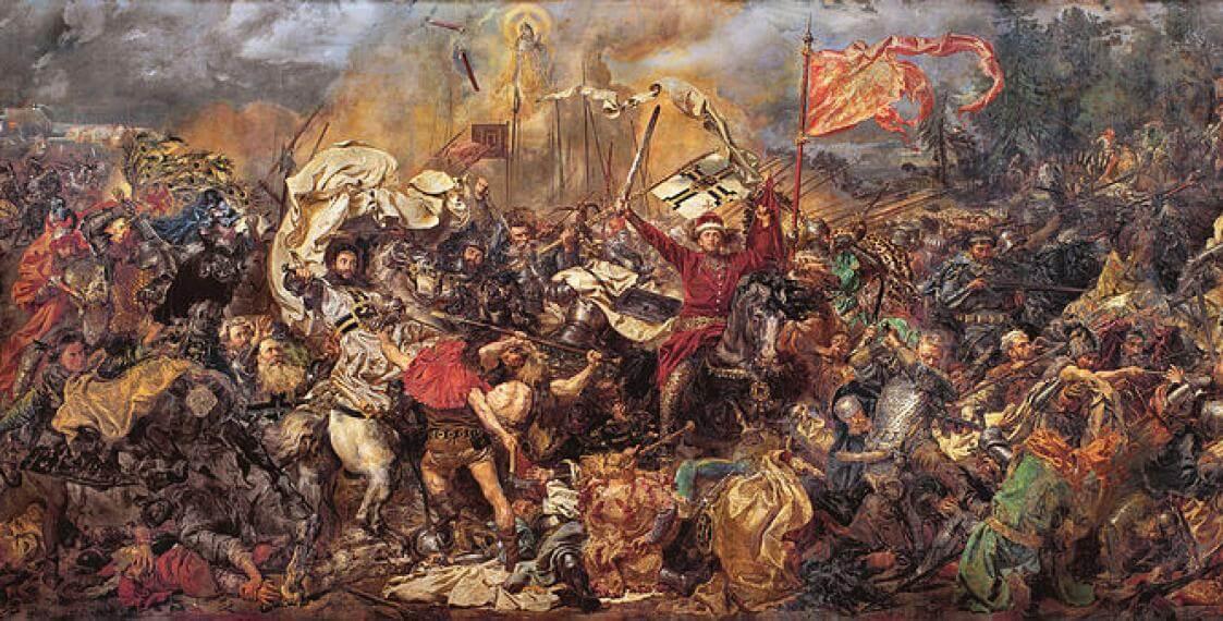 15 июля 1410 года – Грюнвальдская битва