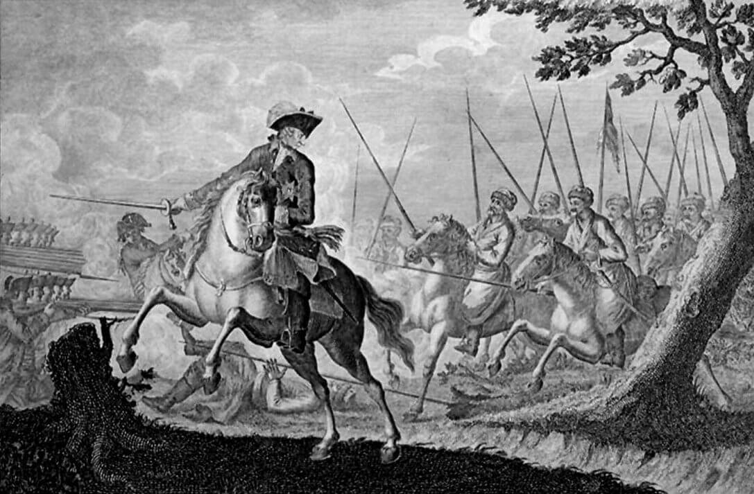 12 августа 1759 года – сражение при Кунерсдорфе