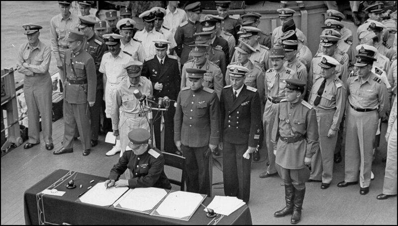 2 сентября 1945 года — День окончания Второй мировой войны