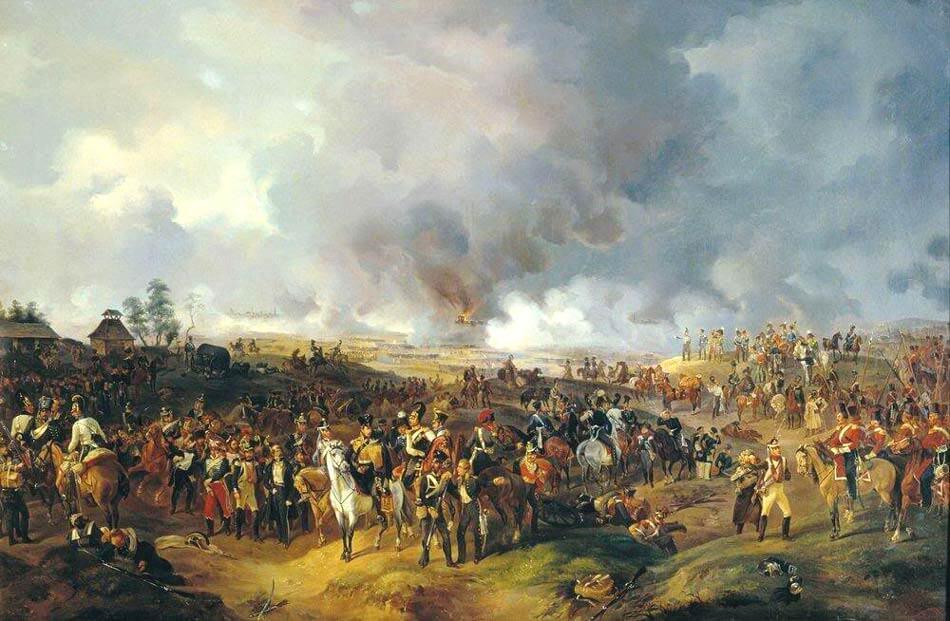 18 октября 1813 года – «Битва народов» под Лейпцигом