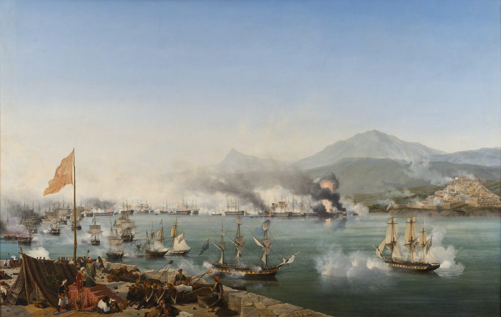 20 октября 1827 года – Наваринское морское сражение