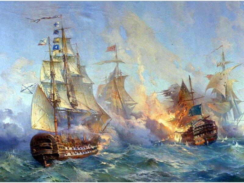 1 декабря – день победы русской эскадры у мыса Синоп