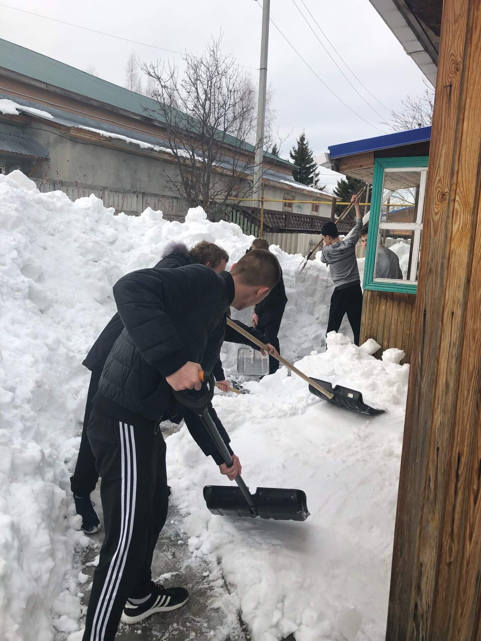 Снежный десант