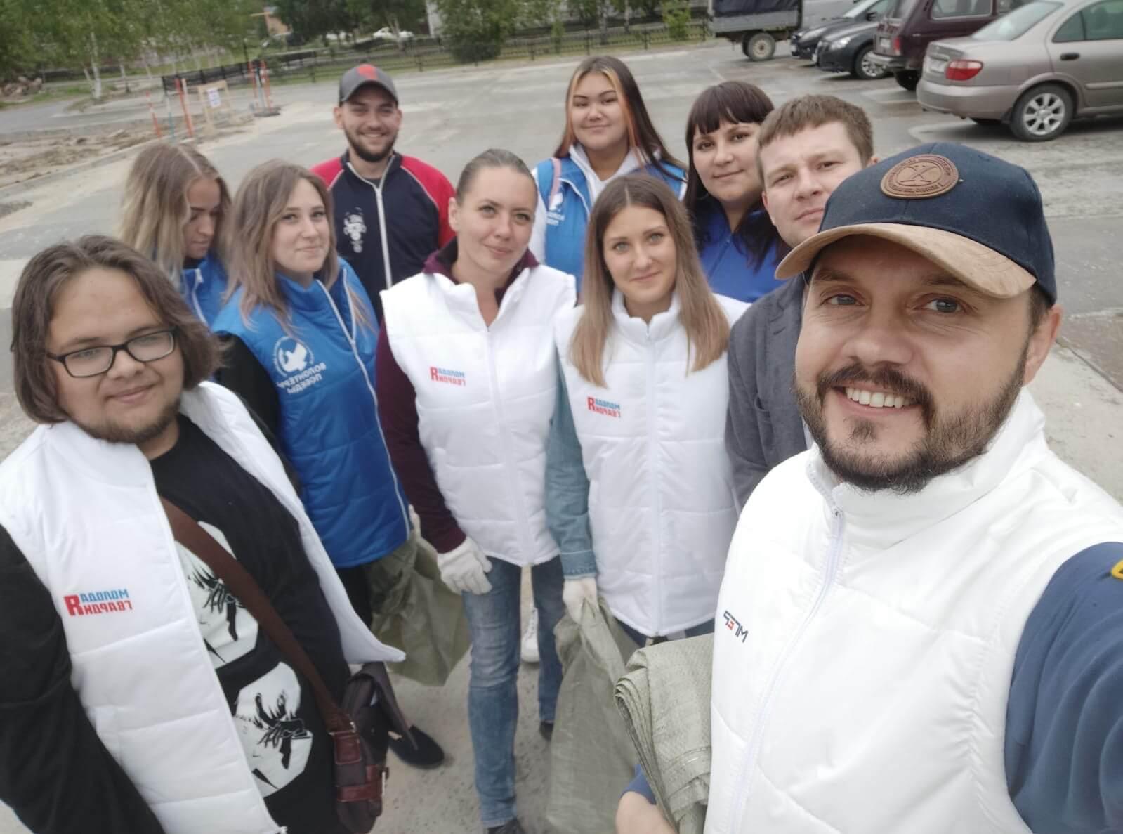 Молодая Гвардия и волонтеры Победы в поддержку молодежных инициатив!